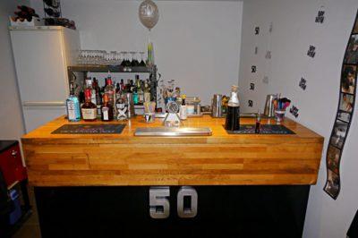 50th Birthday Cocktail Bar
